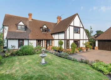 Thumbnail 5 bedroom detached house for sale in Church Road, Grafham, Huntingdon