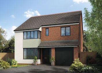 Thumbnail 4 bed detached house for sale in Holystone Way, Holystone, Newcastle Upon Tyne