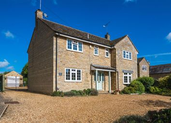 Thumbnail 5 bedroom detached house for sale in Church Street, Nassington, Peterborough