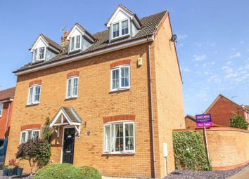 Thumbnail 5 bed detached house for sale in Sandy Road, Buckingham