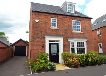 Thumbnail 4 bed detached house to rent in Loddington Close, Syston