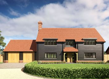 Thumbnail 5 bed detached house for sale in Holly Bush Close, Gibbs Brook Lane, Oxted, Surrey