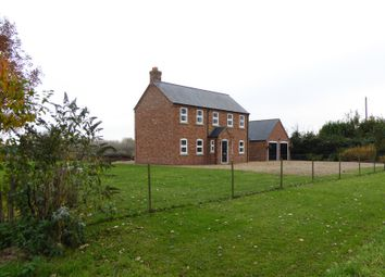 Thumbnail 4 bed detached house for sale in Sandy Lane, Leverington, Wisbech