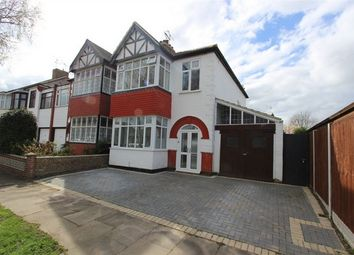 Thumbnail 3 bed semi-detached house for sale in 53 Birchwood Drive, Leigh-On-Sea, Essex