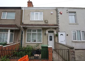 Thumbnail 3 bed terraced house for sale in Elsenham Road, Grimsby, Lincolnshire