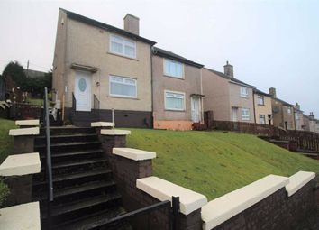 Thumbnail 2 bed semi-detached house for sale in Wren Road, Greenock