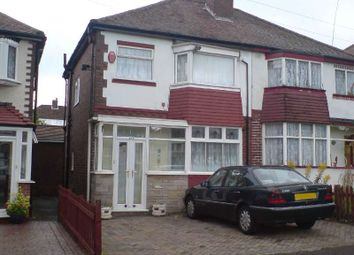 Thumbnail 3 bed semi-detached house to rent in Kingstanding, Great Barr