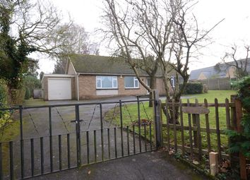 Thumbnail 3 bed detached bungalow to rent in School Lane, Elton, Peterborough