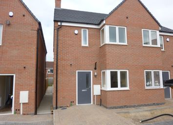 Thumbnail 3 bedroom semi-detached house for sale in High Street, Barwell, Leicester