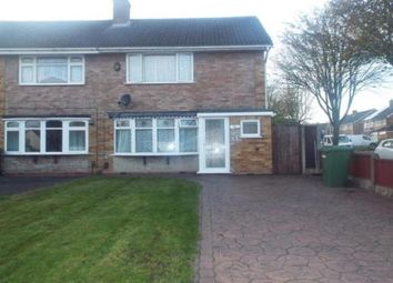 Thumbnail 3 bed property to rent in Wem Gardens, Wednesfield, Wolverhampton