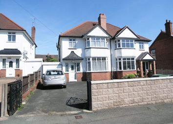 Thumbnail 3 bed semi-detached house for sale in Dudley, Netherton, Church Road