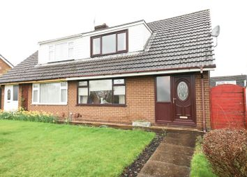 Thumbnail 3 bed semi-detached house for sale in Garside Grove, Winstanley, Wigan