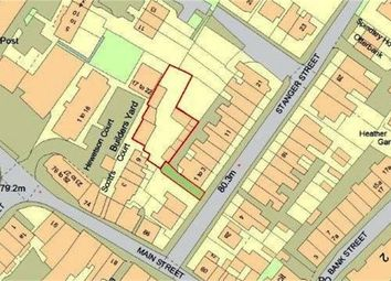 Thumbnail Land for sale in Development Site (Hodgson's Builders Yard), Rear Of 1-3 Stanger Street, Keswick