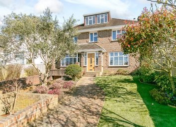 Thumbnail 5 bed detached house for sale in Shirley Drive, Hove