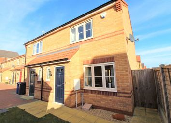 Thumbnail 2 bedroom semi-detached house for sale in Wolsey Way, Glebe Park, Lincoln