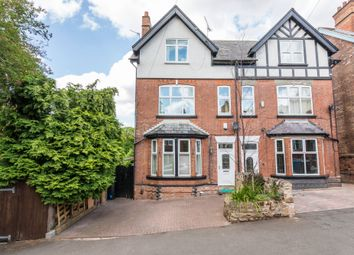 Thumbnail 5 bed semi-detached house for sale in Ebers Road, Mapperley Park, Nottingham