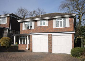 Thumbnail 5 bed detached house to rent in Lodge Close, Englefield Green