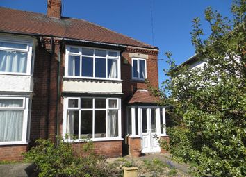 Thumbnail 3 bed semi-detached house to rent in Welwyn Park Road, Hull