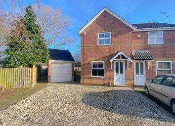 Thumbnail 2 bed semi-detached house for sale in Bluebell Close, Scunthorpe