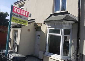 Thumbnail 1 bed terraced house to rent in Croyland Avenue, Holland Street, Hull