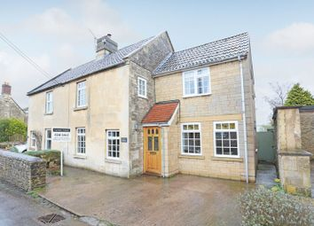Thumbnail 4 bed semi-detached house for sale in The Street, Broughton Gifford, Melksham