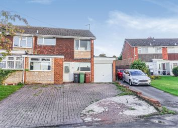 Thumbnail 3 bed semi-detached house for sale in Appledore Road, Walsall