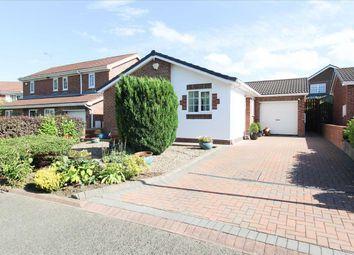 Thumbnail 3 bedroom bungalow for sale in Hauxley Drive, Northburn Dale, Cramlington