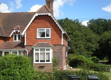 Thumbnail 2 bed semi-detached house to rent in Ashdown Farm, Forest Row, East Sussex