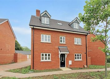 Thumbnail 4 bed detached house for sale in Chiswell Place, New Cardington, Bedfordshire
