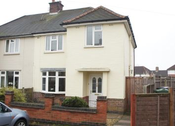 Thumbnail 3 bed semi-detached house for sale in The Close, Anstey, Leicester