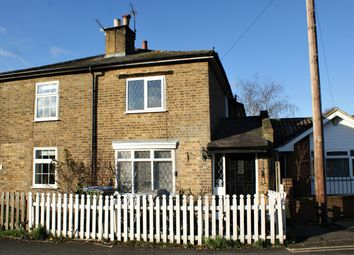 Thumbnail 2 bedroom semi-detached house for sale in Pleasant Place, Hersham, Walton-On-Thames