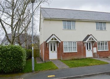 Thumbnail 2 bed end terrace house to rent in 38, Maes Y Dafarn, Carno, Caersws, Powys