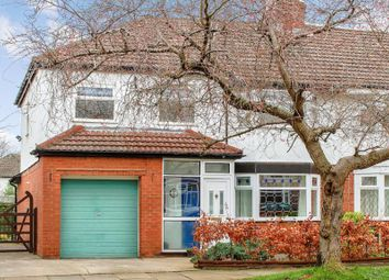 Thumbnail 4 bed semi-detached house for sale in Highfield Road, Cheadle Hulme, Cheadle