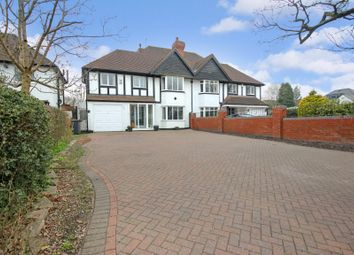 Thumbnail 4 bed semi-detached house for sale in Streetsbrook Road, Shirley, Solihull