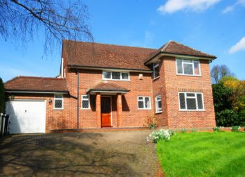 Thumbnail 4 bed detached house to rent in Henley Road, Marlow