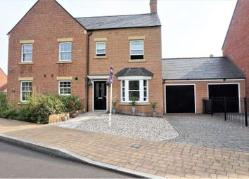 Thumbnail 3 bed semi-detached house for sale in Dunsley Vale, Swindon