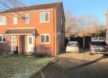 Thumbnail 2 bedroom semi-detached house for sale in Allfields, Dovercourt, Harwich