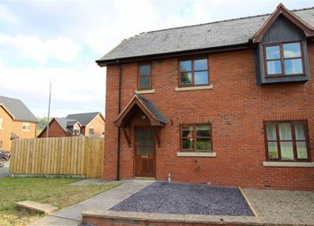 Thumbnail 3 bedroom semi-detached house to rent in 2, Parc Hafod, Tregynon, Newtown, Powys