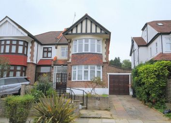 Thumbnail 3 bed semi-detached house to rent in Minchenden Crescent, London