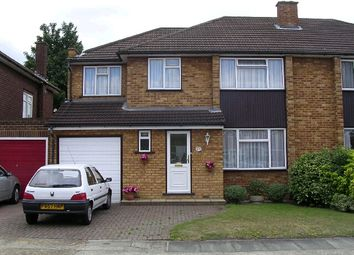 Thumbnail 4 bed semi-detached house to rent in Stanley Close, Gidea Park