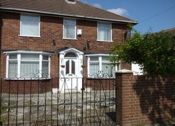 Thumbnail 3 bedroom property to rent in Queens Drive, Walton, Liverpool