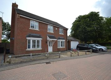 Thumbnail 4 bed detached house to rent in Volunteer Close, Wootton, Northampton