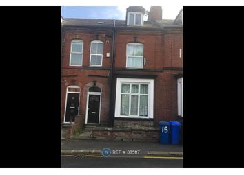 Thumbnail 8 bed terraced house to rent in Wilkinson Street, Sheffield