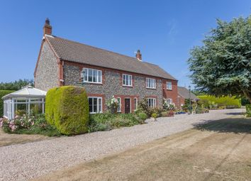 Thumbnail 4 bed detached house for sale in Saxon Court, Hall Lane, North Walsham