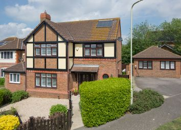 Thumbnail 5 bed detached house for sale in Lucilla Avenue, Knights Park, Ashford