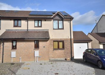 Thumbnail 3 bed semi-detached house for sale in Manaton Close, Helston