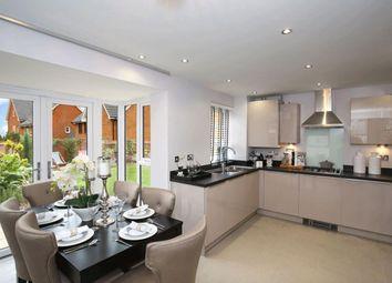 "Thumbnail 4 bed detached house for sale in ""Hexham"" at Fen Street, Brooklands, Milton Keynes"