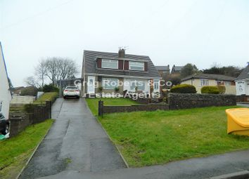 Thumbnail 3 bed semi-detached house for sale in Glanrhyd Close, Scwrfa, Tredegar