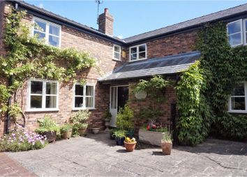 Thumbnail 4 bed detached house for sale in Well Lane, Mouldsworth, Chester