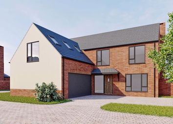 Thumbnail 4 bed detached house for sale in Plot 6, Moorcroft Farm, Crowle